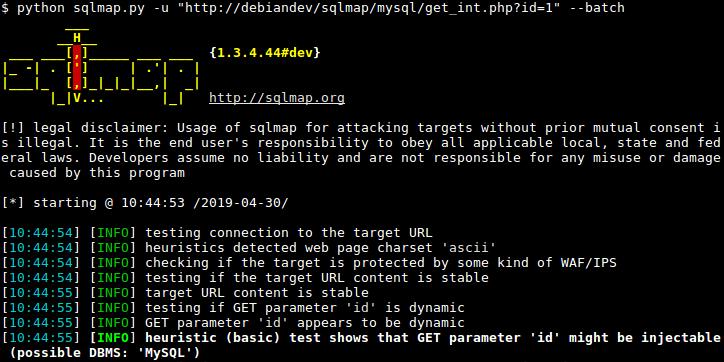 اشنایی با باگ Sql Injection و نفوذ و هک وب سایت توسط ابزار Sqlmap در کالی لینوکس