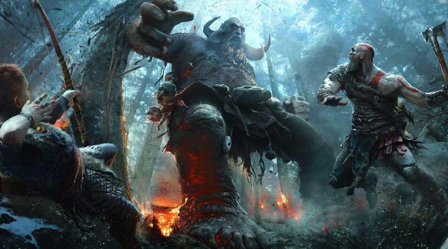 قهرمان فیلم انتقام جویان به بازی خدای جنگ 5 برای PS5 پیوست + تاریخ انتشار