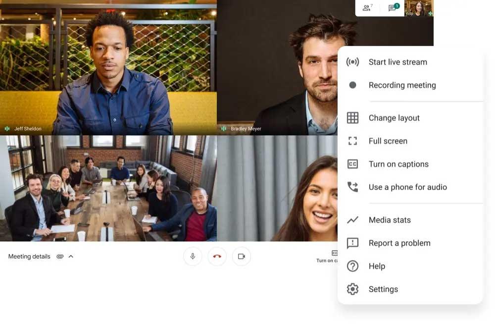ایجاد کلاس آنلاین رایگان و وب کنفرانس با نرم افزار گوگل میت Google Meet