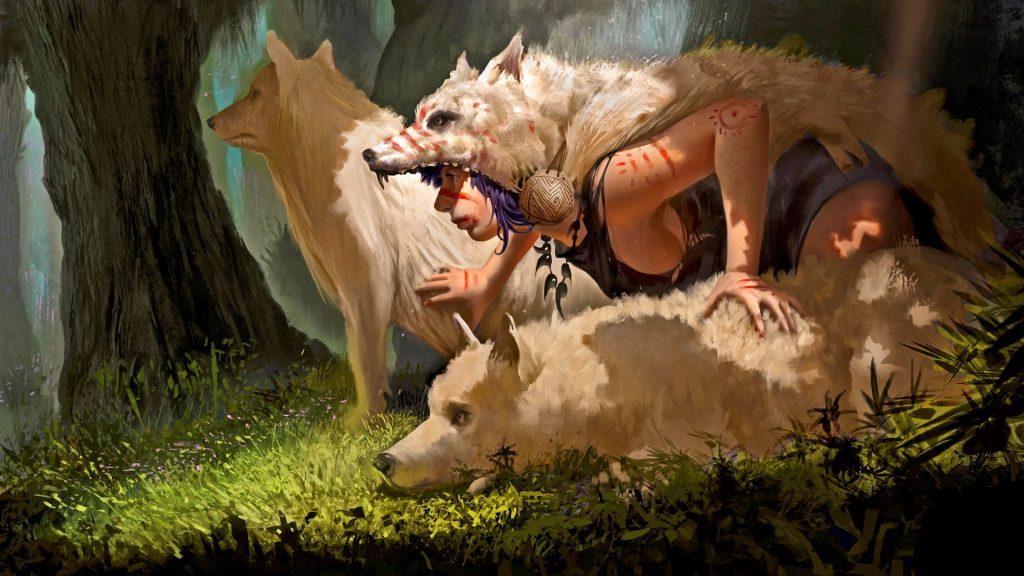 24 عکس زیبا برای خالکوبی گرگ روی بدن + لینک دانلود