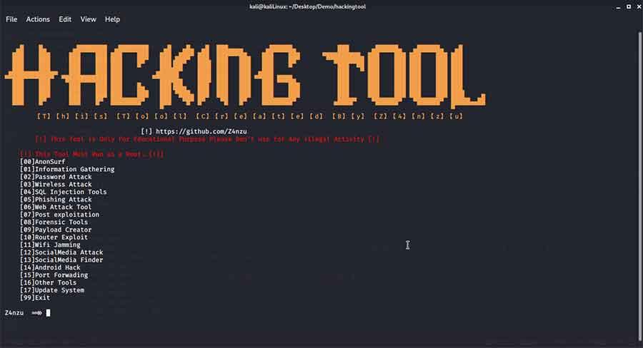 حل مشکل لینک ندادن در Ngrok و کار با ابزار Hacking Tool در کالی لینوکس