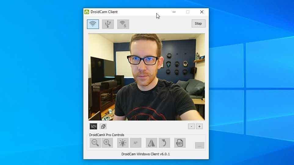 تبدیل دوربین گوشی به وبکم لپ تاپ یا کامپیوتر با نرم افزار DroidCam